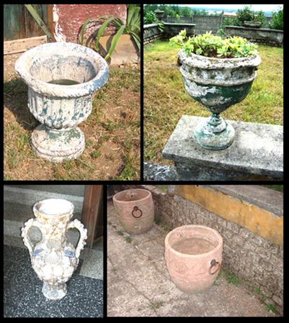 Piacevolezze rigorosamente vecchie bancarella degli for Vasi ornamentali da giardino
